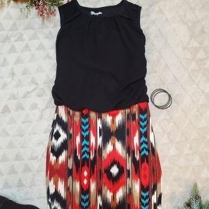 Azrec Print Dress